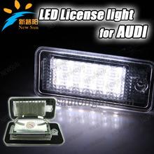 7000K Super white Error Free Led License Plate Light led number plate light For Audi A3/S3 A3 A4 A6 A8 Q7 Avant Cabriolet