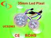 6pcs SMD5050 35mm Led Pixel light UCS2903 string, DMX control rgb led pixels