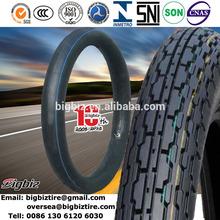 Di alta qualità 2.75-21 3.00-21 275/300-21 iran yasa motociclo tubo interno per pneumatici