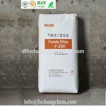 Fumed silica dispersion/densified silica fume/oci fumed silica