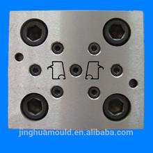Cromo de moldeo tira de ajuste/confeccionado el molde/del grano de extrusión del molde
