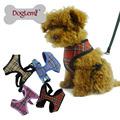 تم فحصه الكلاسيكية تصميم شبكة الكلب حيوان أليف تسخير تسخير سترة الركض