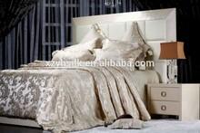 Luxurious100%Silk Jacquard Sateen Sheet Set