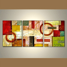Wholesale Handmade Modern Abstract Group Oil Painting