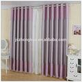 Púrpura 100% moderna de poliéster cortina de oscurecimiento