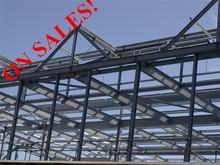 De alta qualidade galvanizado estrutura de aço / construção / WarehouseJHX-SS1004-C