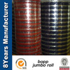 bopp packing tape jumbo roll with difference size