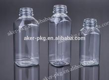 Clear plastic juice bottles 250ml,350ml,500ml