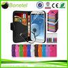 Wallet Card Holder Leather Case for Samsung S3 accesorio para celular