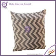 18878 gray cheap lamour satin strip latest design ethnic india cushion covers wholesale