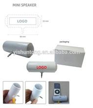 Use AAA battery mini speaker for iphone ipod