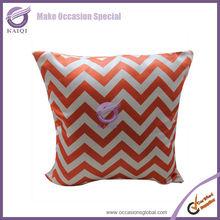 18878 orange cheap lamour satin ethnic india cushion covers latest design wholesales