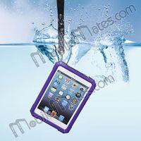 IP67 waterproof Shockproof ABS Protective Case for iPad mini iPad with Lanyard, tablet waterproof case