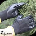 Negro 13g sin costuras de punto guantes de nitrilo guantes de protección/de seguridad guantes de protección