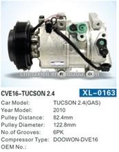 c compressor parts for HCC-RS18 TUCSON 2.4(GAS) a/c car automobile air conditioner compressor
