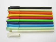 Recycled paper roll ball pen