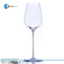Samyo Glassware Manufacturers Custom Handmade Glass 28oz lead free crystal glassware for wine