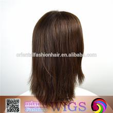Wholesale Natural Woman Human Hair Wig Mono Filament