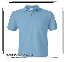 Middle aged men fashion polo shirt/wholesale plus size clothing polo t shirt in bulk plain
