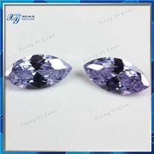 5x10mm light purple marquise shape loose diamomds gemstone beads for fashion jewelry
