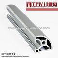Alumínio parede fina canal/retangular de alumínio perfil de alumínio anodizado perfil moldura da porta