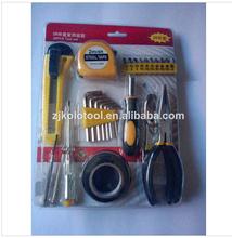 28pcs tool set disposable tools,screwdrivers set ,tool case kits