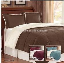 sherpa comforter sets, reversible comforter sets,microbrushed comforter
