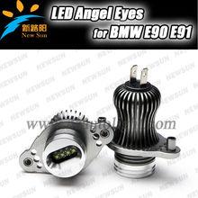 LED angel eyes marker Aluminium alloy OEM design for BMW E90 E91 2005-2008 pre LCI Halogen headlight High power 20w *2 C REE led