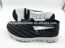unisex woven elastic shoe comfort walking shoes