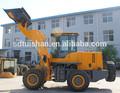 Moderno equipo pesado de construcción, front end cargadora de ruedas