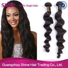 Brazilian loose wave no knots ,no shedding spanish wave wholesale remy brazilian hair weaving