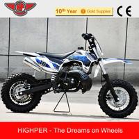 """50cc Cheap Kids Gas Dirt Bikes for Sale DB502A 10""""/10"""""""