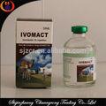 Doxiciclina veterinária para livestork líquido de injeção de ivermectina 1%