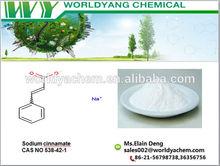 99% White crystalline powder Cinnamic acid sodium salt cas no.538-42-1