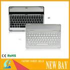 Ultra Slim Bluetooth Wireless Aluminum Keyboard Case Cover for iPad Air iPad 5