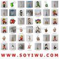 Instock Clearance& freesamples& Brief förderung von yiwu markt für schlüsselanhänger