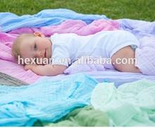 100% Cotton Baby Muslin Wrap swaddle Blanket Baby muslin swaddle