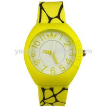 Factory design basketball popular customized silicone wristband watch