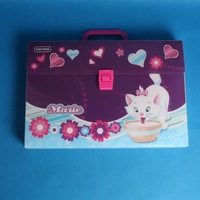 2014 latest a4 plastic file box with handle wholesale