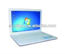 13.3 inch used laptop intel celeron 2GB/320GB HDD price for bulk