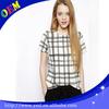 Fashion striped ladies shirt design