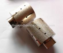 vacuum brazed diamond router bit and drum/vacuum brazed diamond grinding wheel