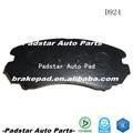Utilisé kia camions en corée plaquettes de frein et chaussures de course kia pièces D924 auto de rechange disque plaquettes de frein