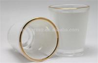1.5oz Sublimation Blank wine Glass/short glass for 3D transfer