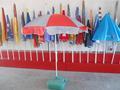 2014 vendita calda ombrellone telaio promozione
