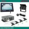 intelligent 7 inch led rear parking assist system parking sensor reverse camera