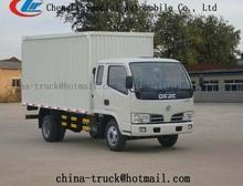 5000kg van cargo truck 95HP,food vans