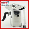 Wholesale best double wall stainless steel coffee milk warmer pot