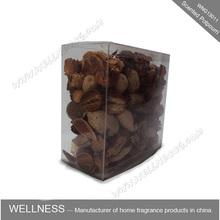 aroma potpourri in bulk in pvc box
