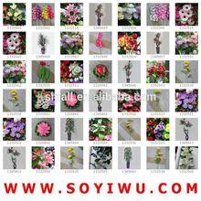 Instock regolarità& freesamples& ali delle api da yiwu mercato per fiori artificiali e frutta